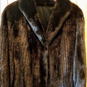 Jackets & Coats - Authentic Mink coat